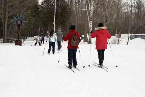 Photo Ski de fond 2017 modifiée crédit Savanah Fournier