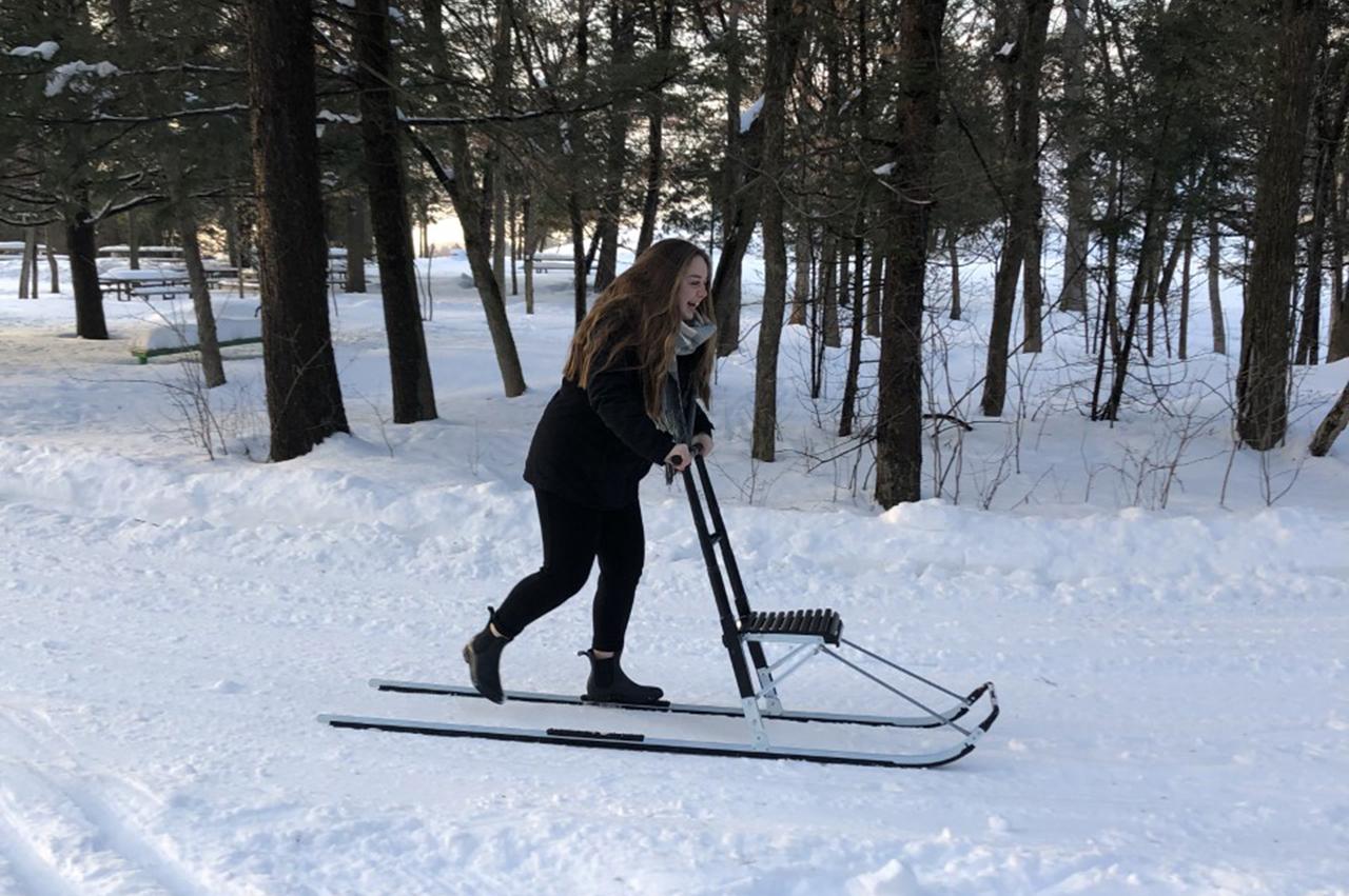 Trottinette des neiges
